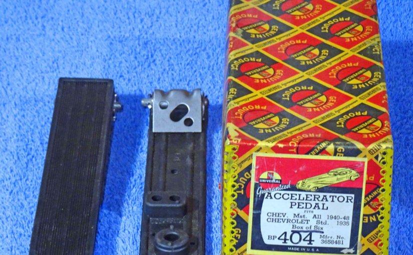 NORS 1932-42 PONTIAC 34-39 OLDSMOBILE 34-42 BUICK PEDAL PAD SET