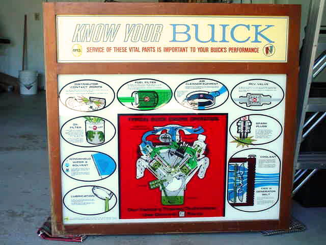 66-67 Buick Dealership Sign
